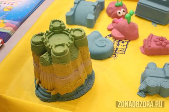 Домашняя песочница. Космический песок – для игр и творчества!